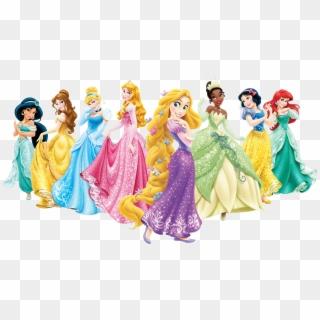 Disney Princess Clipart Disney Princess PNG Princesses Clip Art Png Transparent Background 300 DPI Scrapbook Instant Download