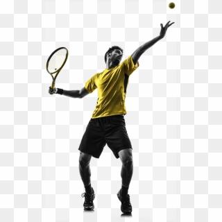 1508v01 Match Tuff Testimonials Man Playing Tennis Ganar El Combate Mental Del Tenis Hd Png Download 510x845 1045301 Pngfind