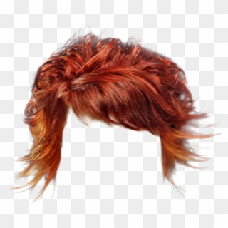 Short Curly Casual Hairstyle With Side Swept Bangs Curly Red Hair Png Transparent Png 521x625 1065083 Pngfind