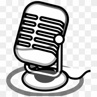 Microphone Clip Art Free - Microphone Interview Icon - (512x512) Png Clipart  Download