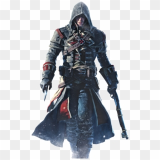 Shay Character Assassins Creed Rogue Hd Png Download 600x968