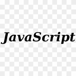 File - Javascript Logo - Svg - Javascript, HD Png Download
