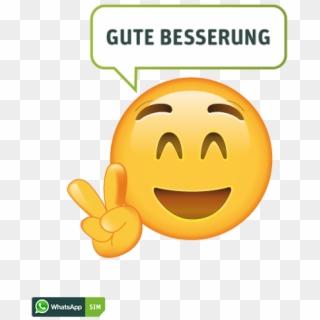 Smiley whatsapp gute besserung Smiley Gute