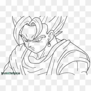 Goku Super Saiyan Coloring Pages With Son God By Dark Goku Super Saiyan Draw Hd Png Download 928x860 238318 Pngfind