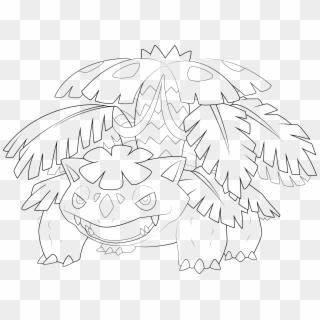 Pokemon Coloring Pages Venusaur in 2020 | Pokemon coloring ... | 320x320