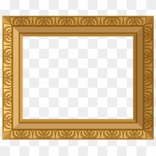 Golden Frame PNG Transparent For Free Download - PngFind