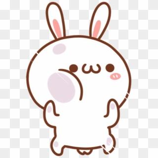 Kawaii Cute Pink Pastel Rabbit Bunny Filter Neon Bunny