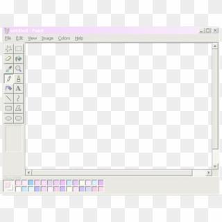 b1eb90b931f90 Frame Paint Aesthetic Tumblr Vaporwave - Aesthetic Frame Png ...