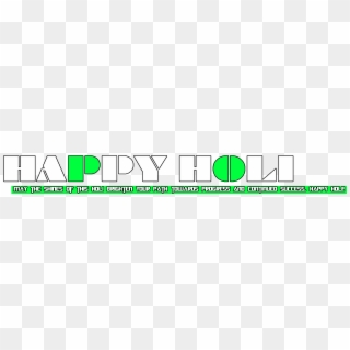 Happy Holi Text PNG Transparent For Free Download - PngFind