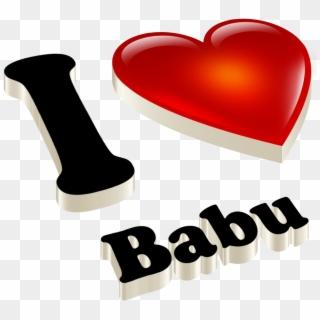 I Love You Babu Wallpaper Neha Name In Heart Hd Png Download