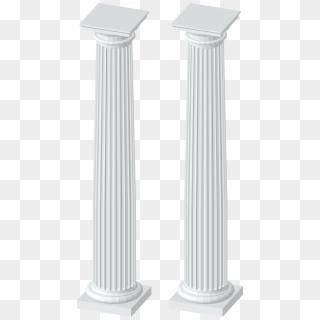 Clip Art White Columns