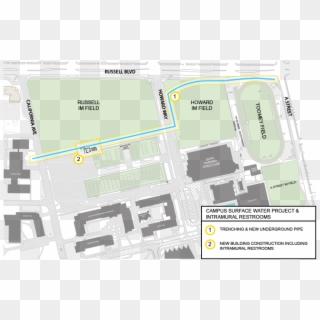 Davis Campus Map on