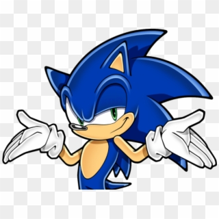 Sonic The Hedgehog Clipart Sonic Head Sonic Don T Care Hd Png Download 640x480 2687524 Pngfind