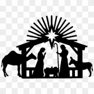 Nativity Silhouette Png Transparent For Free Download Pngfind