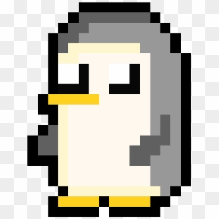 Penguin Minecraft Pixel Art Steve Hd Png Download 1050x1400 3260637 Pngfind