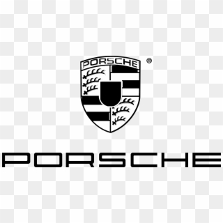Porsche Logo Black And White Porsche Logo Png Transparent Png 2400x1230 3344454 Pngfind