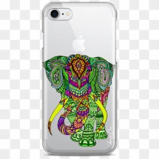 Coque Iphone 7/8 Elephant Mandala - Mobile Phone Case, HD Png ...