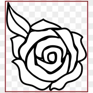 Vignette Drawing Simple Beginner Rose Drawing Easy Hd Png Download 1837x2010 3481061 Pngfind