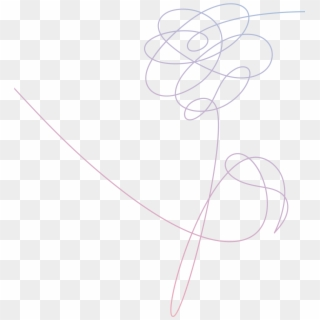 351 3517688 drawing bts aesthetic bts love yourself logo hd