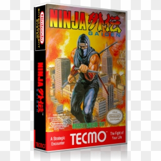 Nes Ninja Gaiden Retail Game Cover To Fit A Ugc Style Ninja