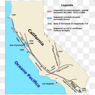 san andreas fault on us map San Andreas Fault Map It San Andreas Fault On Us Map Hd Png