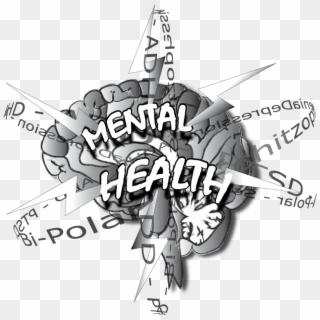 Brain Clipart Mental Health Brain Cartoon Mental Health Hd Png Download 1000x1000 40611 Pngfind