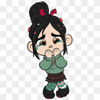 Wreck It Ralph Images Vanellope Von Schweetz Crying Vanellope Crying Hd Png Download 391x833 412653 Pngfind
