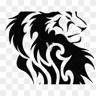 Tribal Lion Tattoo Design Hd Png Download 640x480 421763 Pngfind Outline for new tattoo design. tribal lion tattoo design hd png