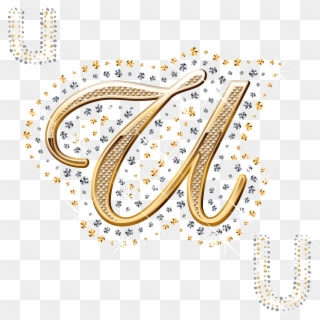 Download U Alphabet Wallpaper In Heart Hd Png Download