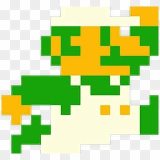 Freetoedit Super Mario Bros Luigi Jump 8bit Retro Mario