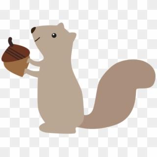 Cute Animals Woodland Clipart Set Clip Art Department Cartoon Cute Squirrel Squirrel Clipart Hd Png Download 715x517 4794566 Pngfind