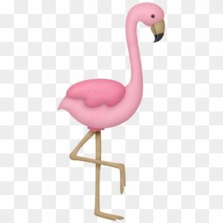 Flamingo kawaii. Png transparent for free