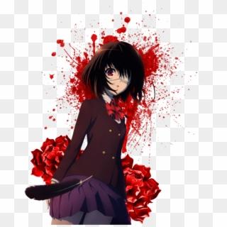 Sticker Another Anime Horror Blood Animegirl T Shirt Roblox