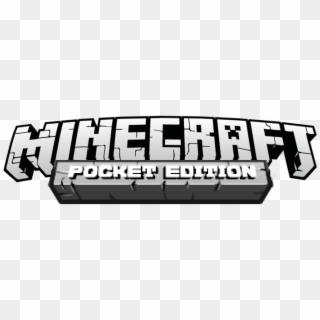 Minecraft Pocket Edition Logo Png Minecraft Pocket Edition Png Transparent Png 1153x436 541885 Pngfind