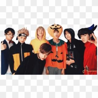 598 5983881 bts group halloween sticker bts halloween hd