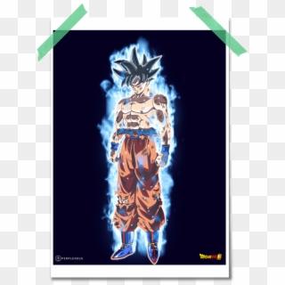 Dragonball Super Mastered Ultra Instinct Goku Decal Goku Ultra Instinct Png Transparent Png 762x1600 4667873 Pngfind