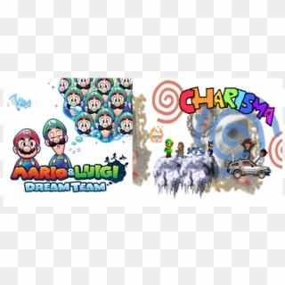 Ice Flower Mario And Luigi Dream Team Mario Sprite Hd Png