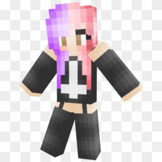 Minecraft Cute Spider Girl Png Download Minecraft Anime Girl Mob Transparent Png 672x1133 3816831 Pngfind