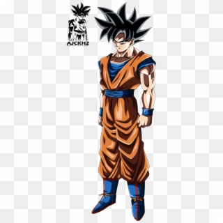 Goku Ultra Istinto Png Ultra Instinct Son Goku Png Transparent Png 493x1192 6323085 Pngfind