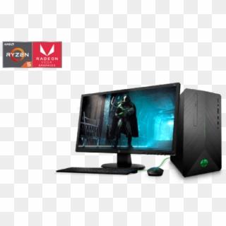 Computador De Escritorio Hp Hp Pavilion Gaming Desktop 690 000bla Hd Png Download 696x465 6524812 Pngfind
