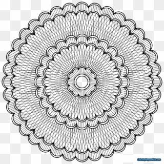 Advanced Mandala Coloring Pages Angel Level Printable Mandala Lineart Png Transparent Png 1600x1600 6546984 Pngfind