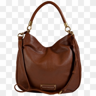 Marc By Marc Jacobs Leather Hobo In Redwood - Sac A Main Femme ...