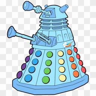 My Little Dalek Doctor Who Coloring Pages Hd Png Download 860x1015 6634284 Pngfind