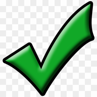 Green Check Mark Png Transparent For Free Download Pngfind