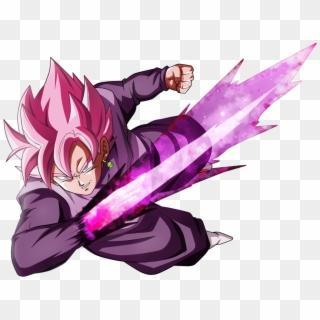 Goku Black Rose Sword Hd Png Download 1024x837 6733822 Pngfind
