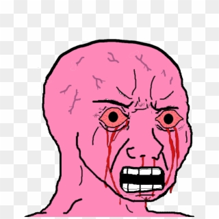 Pink Wojak Png Download Pink Wojak Transparent Png 584x735