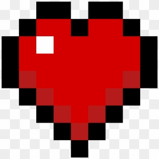 Minecraft Heart Png Transparent For Free Download Pngfind