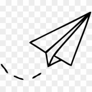 How To Draw Paper Plane Tattoo Minimalist Png Plane Paper Plane