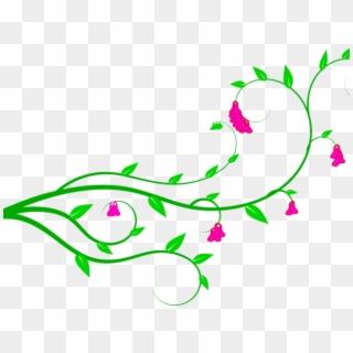 Vines Clipart Rainforest Vine - Green Leaf Png Vector Transparent Png  (#362138) - PikPng