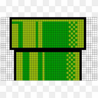 Warp Pipe Pixel Art Yarn Super Mario Pipes Pixel Piranha Plant